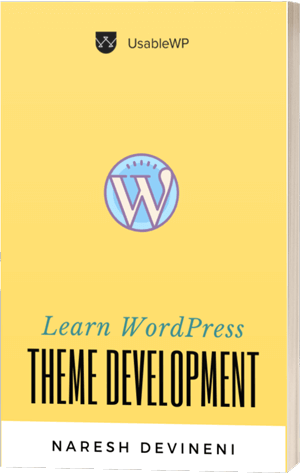 Learn WordPress Theme Development Book Cover