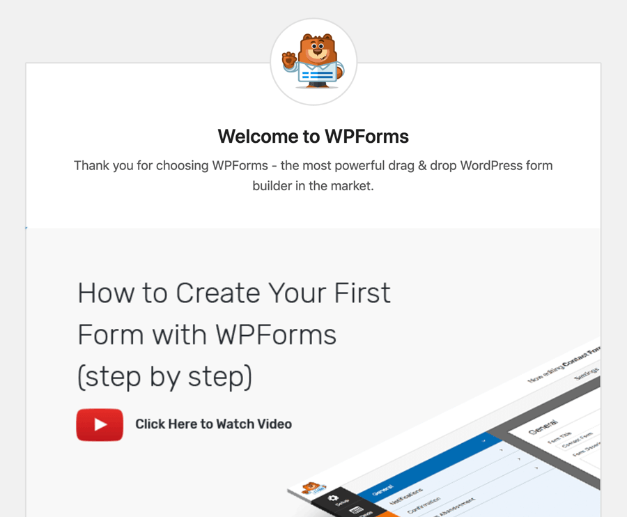 WPForms Introduction Scene