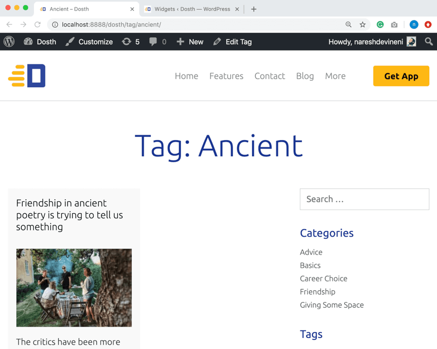 Tag Ancient
