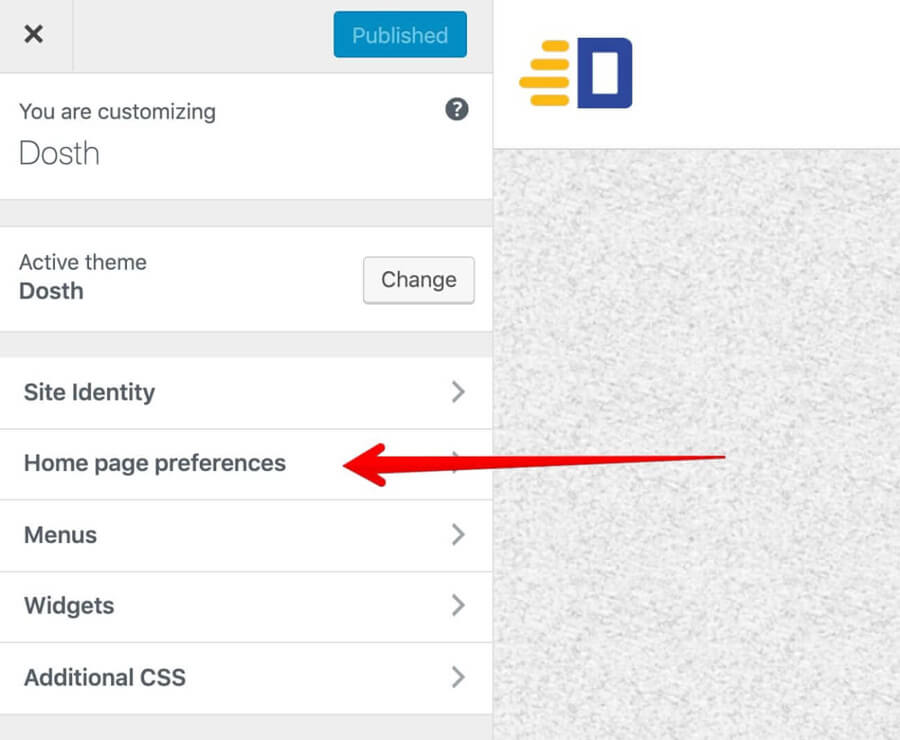 Renaming the default section inside WordPress Customizer